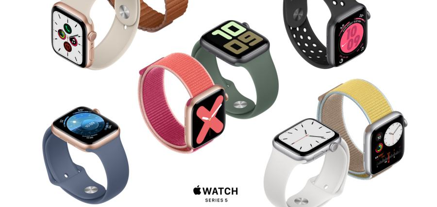 Apple Watch Series 5 specifications design battery life